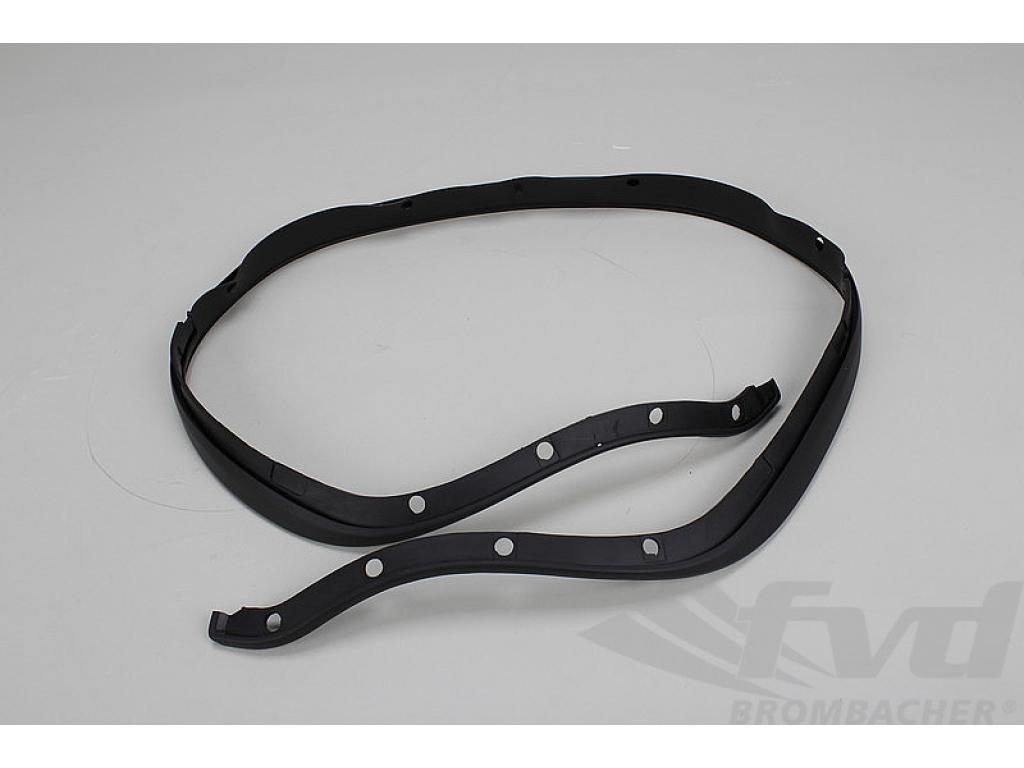 Sealing Strip 964 / 965 - Front Bumper - Wide Body - Satin Black