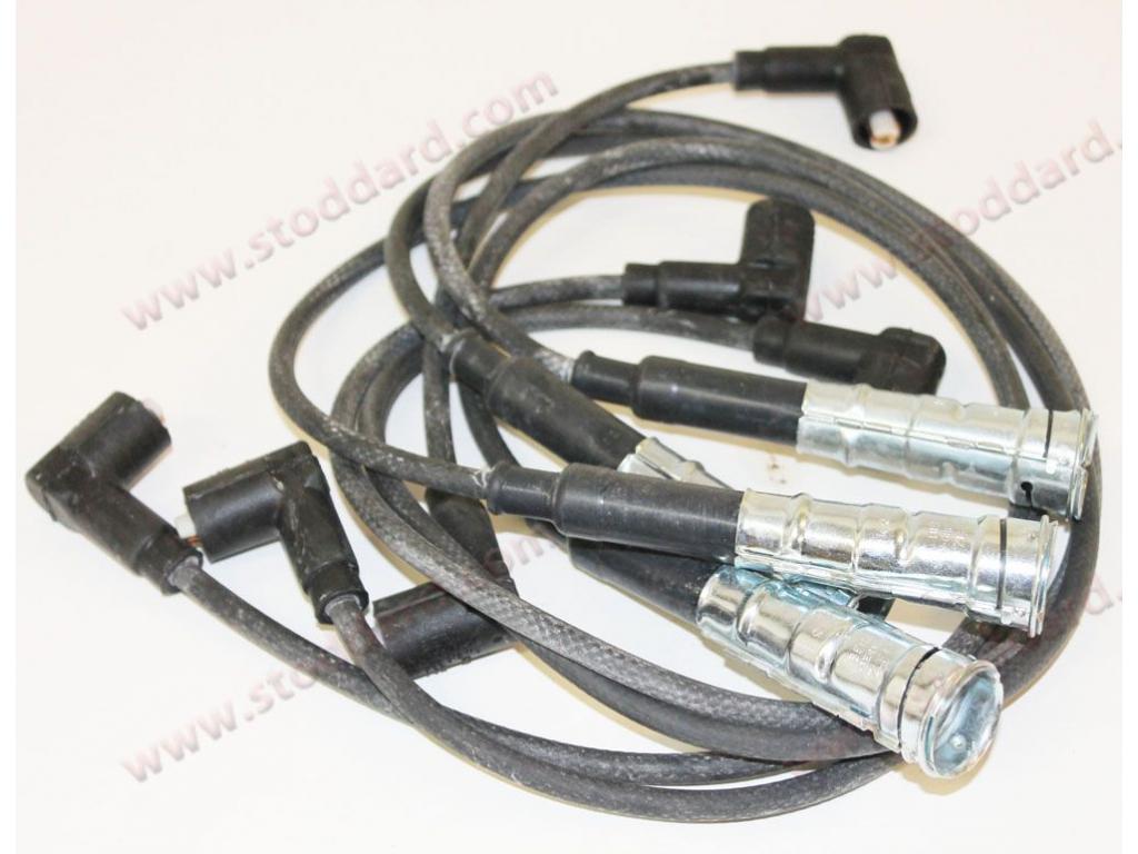 Napa 700366 Ignition Spark Plug Wire Set Fits 1977-1982 Porsche 924 2.0L-L4