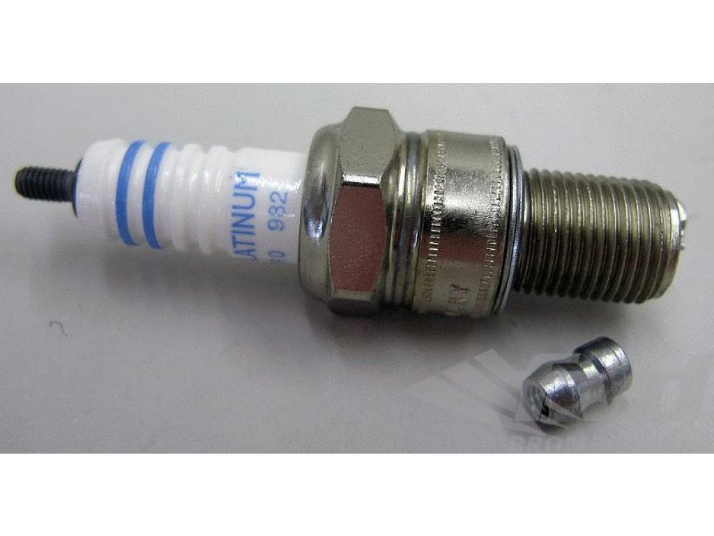 Bosch Double Platinum Spark Plug Replacement Engine Ignition Service Part WR6DP0